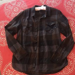 Vans flannel size small